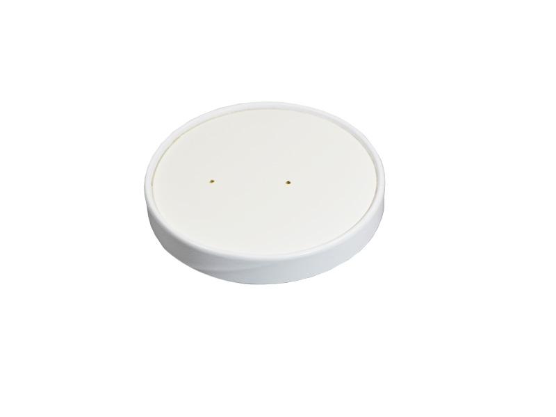 3 HIT CENOWY! Wieczko papierowe białe do pojemnika na zupę 8oz śr. 95mm