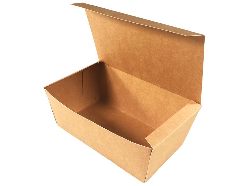 1 HIT CENOWY! Pudełko kurczak mały klejone brązowo-brązowe 160/145x100/85x60mm